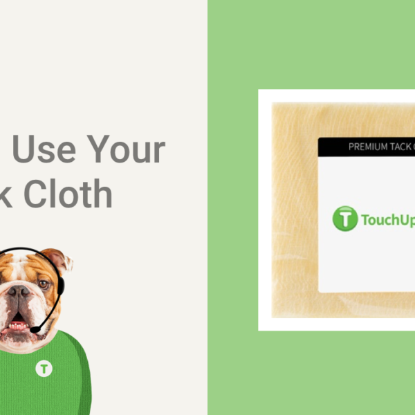 How To Use Your Tack Cloth