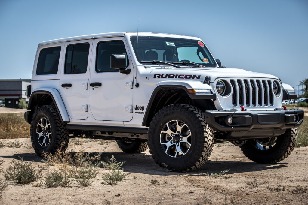 Jeep Wrangler Rubicon edition
