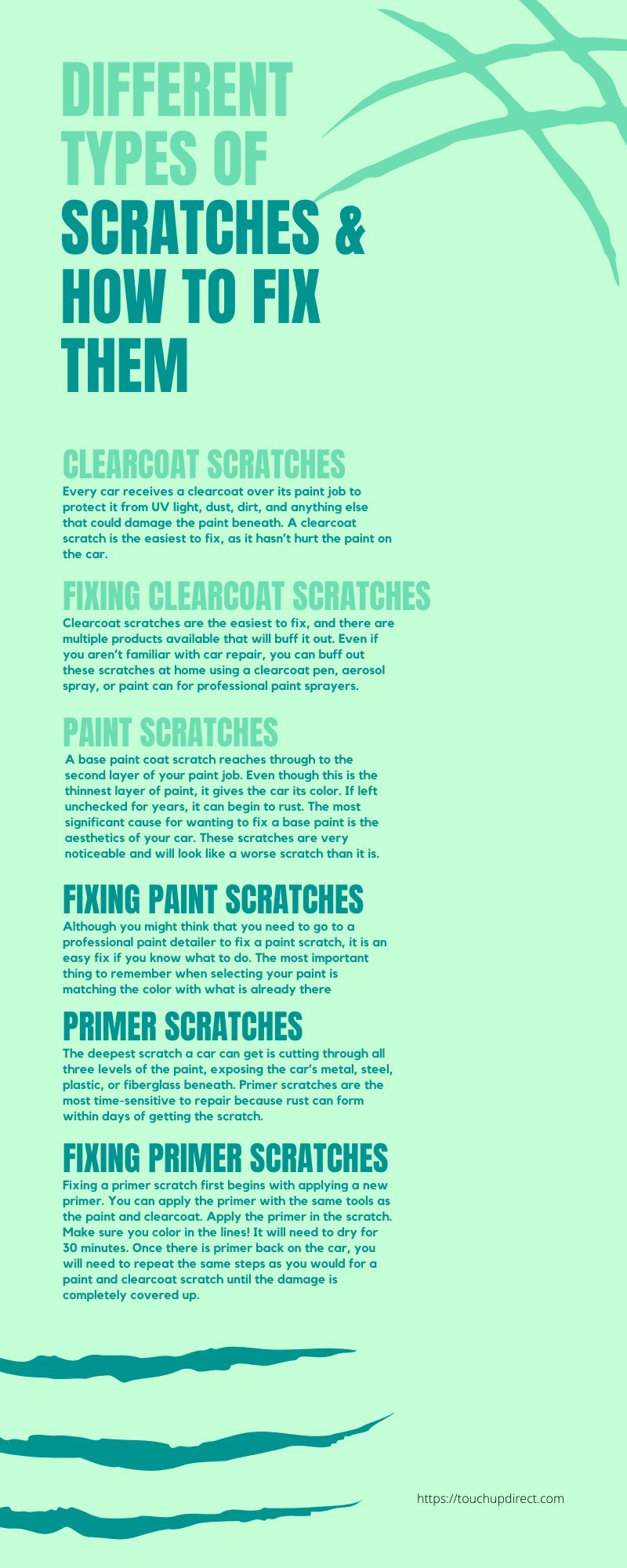 Different Types of Scratches & How To Fix Them